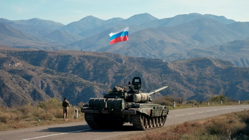 Российские миротворцы начали отслеживать ситуацию в Карабахе
