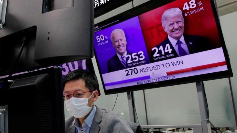 В Кремле прокомментировали процесс подведения итогов выборов в США
