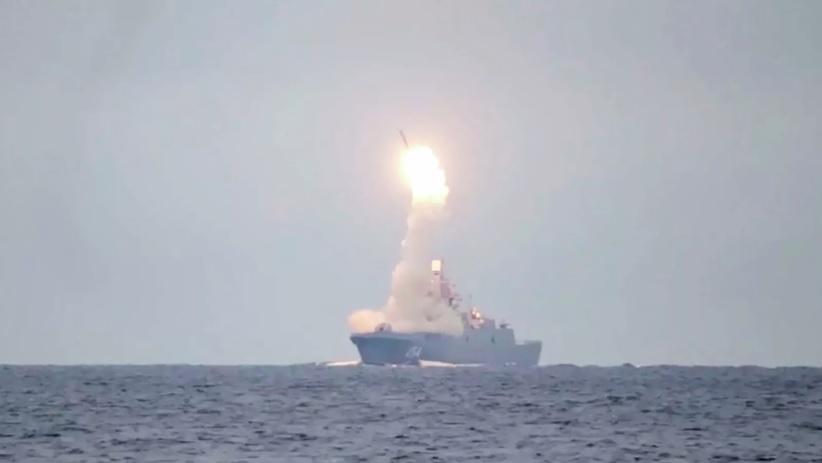 В Белом море проведён испытательный пуск ракеты «Циркон»