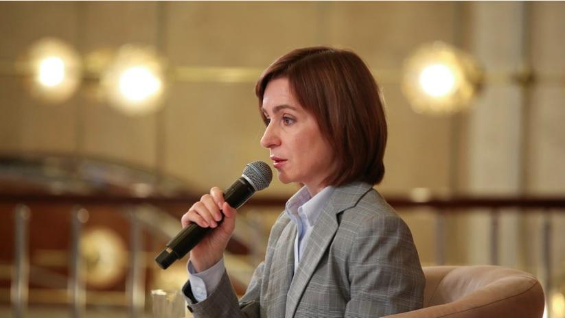 Санду продолжит диалог с Россией по утилизации боеприпасов в Приднестровье