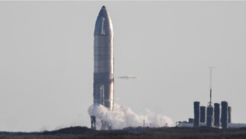 Прототип корабля Starship взорвался после испытательного полёта