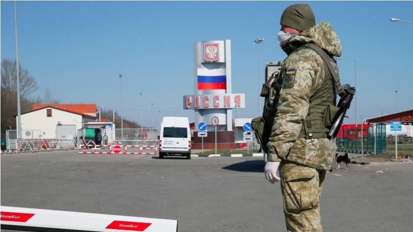 Трое неизвестных с оружием попытались прорваться в Россию с Украины