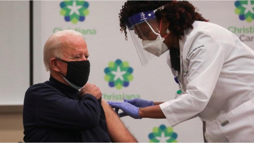 Джо Байдену сделали прививку от коронавируса