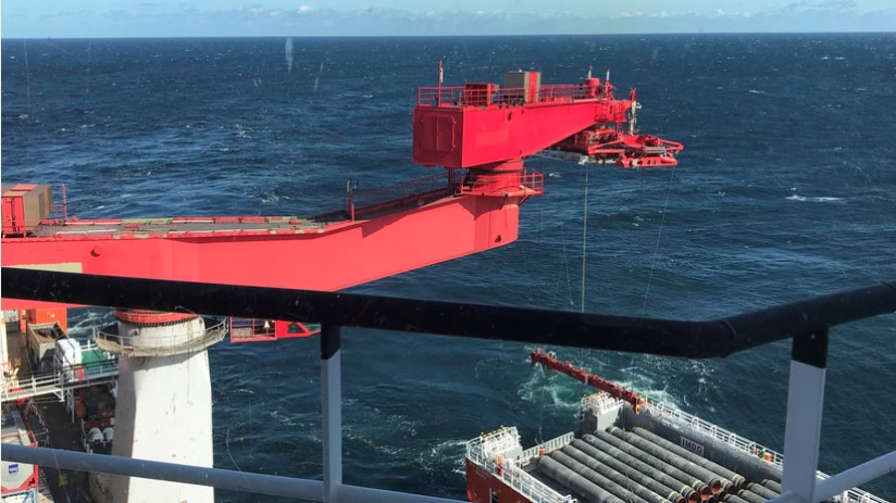 Bloomberg назвал сроки завершения строительства «Северного потока — 2»