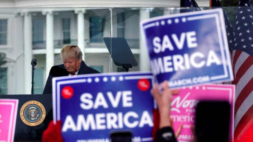 Трамп призвал протестующих в Вашингтоне действовать мирно