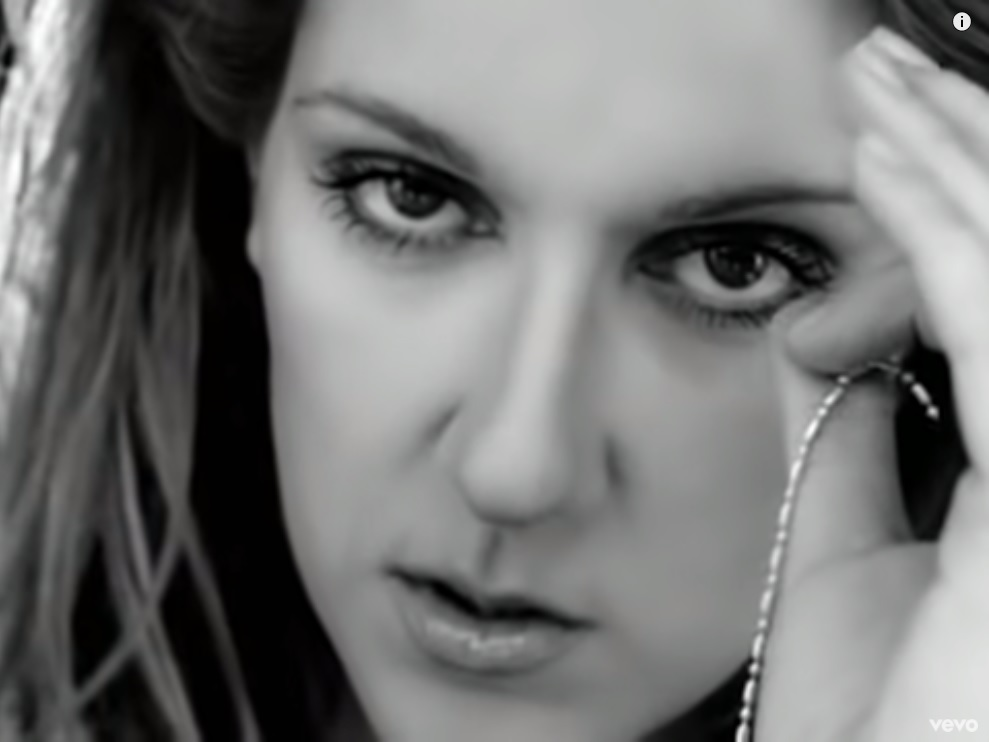 Celine Dion – I Drove All Night